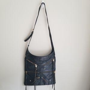 Rebecca Minkoff  Tri Zip Love Letter Bag